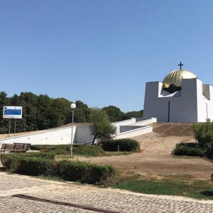 24-каратово злато от Германия покрива купола на Пантеона в Русе