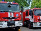 7 пожара в сухи треви и отпадъци са гасили огнеборците в Русенско
