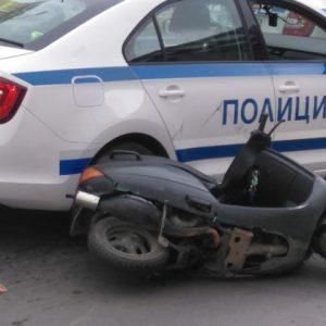 Арестуваха мотопедист в центъра на Русе