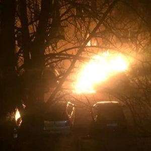 Взрив на автомобил събуди цял квартал в Русе