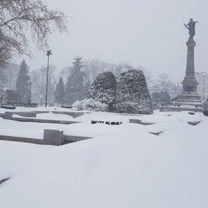 Жълт код за снеговалеж в 12 области на страната, Русе е сред тях