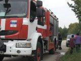 Камион се запали на пътя Русе - Бяла