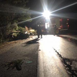 Катастрофа край Бабово затруднява трафика