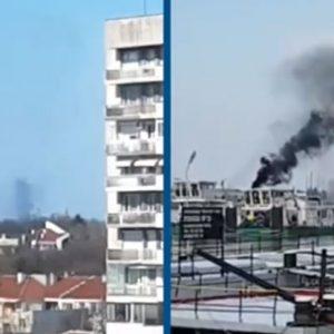 Корабите край Русе допълнително замърсяват въздуха в града