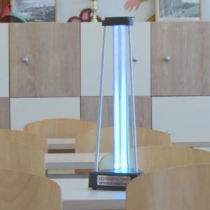 Облъчват с бактерицидни лампи класните стаи в русенско училище