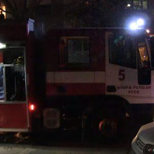 Пожар избухна в апартамент в Русе