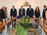 Първо заседание на Общинския съвет в Две могили