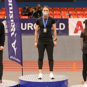 Русенска състезателка грабна бронза в спринта на 60 метра