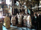 Света литургия на български език в гръцкия светогорски манастир Пантократор