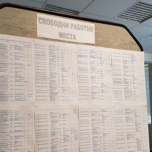Свободни работни места в Русе към 6 април 2020 година
