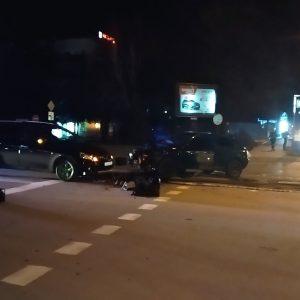 Тежка катастрофа на кръстовището край Мол Русе