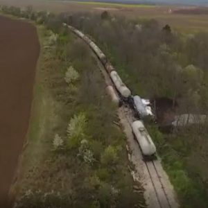 В участъка на дерайлиралия влак скоро е имало ремонт