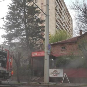 Пламъци обхванаха култовото русенско заведение