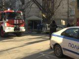 Пожар в жилищен блок в центъра на Русе