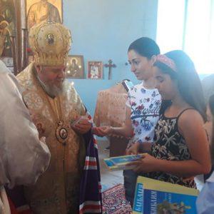 Тържествено осветиха обновения храм в Новград